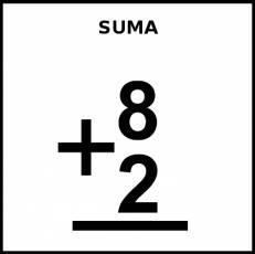 SUMA - Pictograma (blanco y negro)