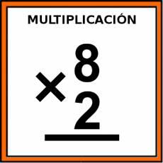 MULTIPLICACIÓN - Pictograma (color)