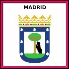 MADRID - Pictograma (color)