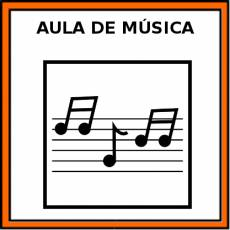 AULA DE MÚSICA - Pictograma (color)