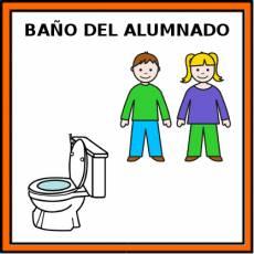 BAÑO DEL ALUMNADO - Pictograma (color)