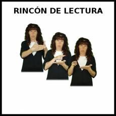 RINCÓN DE LECTURA - Signo