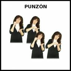 PUNZÓN - Signo