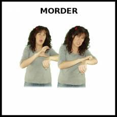 MORDER (AGRESIÓN) - Signo