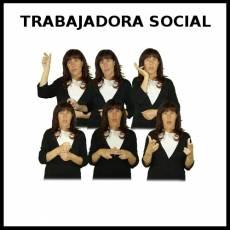 TRABAJADORA SOCIAL - Signo