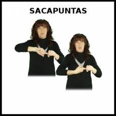 SACAPUNTAS - Signo