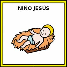 NIÑO JESÚS - Pictograma (color)