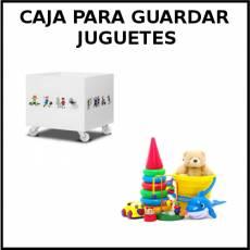 CAJA PARA GUARDAR JUGUETES - Foto