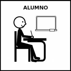 ALUMNO - Pictograma (blanco y negro)