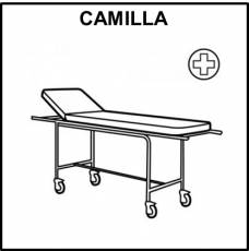 CAMILLA - Pictograma (blanco y negro)