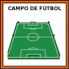 CAMPO DE FÚTBOL - Pictograma (color)