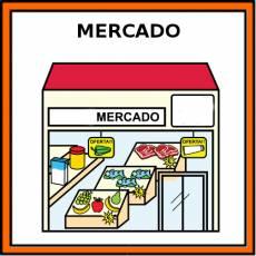 MERCADO - Pictograma (color)