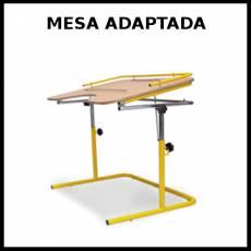 MESA ADAPTADA - Foto