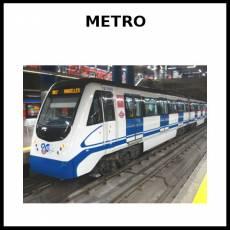 METRO (MEDIO DE TRANSPORTE) - Foto