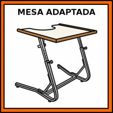 MESA ADAPTADA - Pictograma (color)