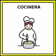 COCINERA - Pictograma (color)