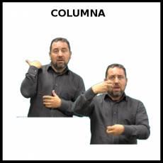 COLUMNA (VERTEBRAL) - Signo