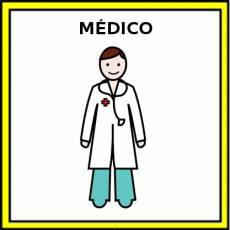 MÉDICO - Pictograma (color)