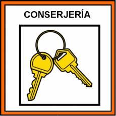 CONSERJERÍA - Pictograma (color)