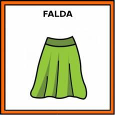 FALDA - Pictograma (color)