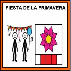 FIESTA DE LA PRIMAVERA - Pictograma (color)