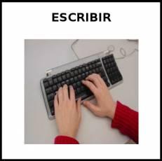 ESCRIBIR (CON TECLADO) - Foto