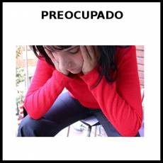 PREOCUPADO - Foto