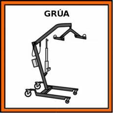 GRÚA - Pictograma (color)