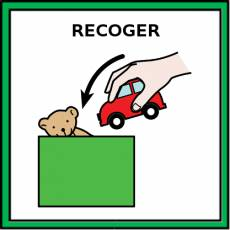 RECOGER - Pictograma (color)