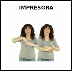 IMPRESORA - Signo