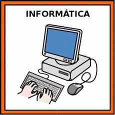 INFORMÁTICA - Pictograma (color)
