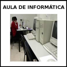 AULA DE INFORMÁTICA - Foto