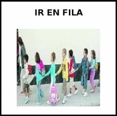 IR EN FILA - Foto