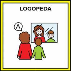 LOGOPEDA (MUJER) - Pictograma (color)