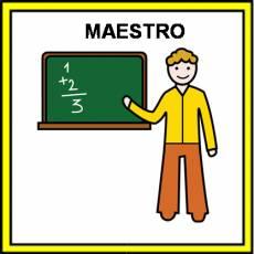 MAESTRO - Pictograma (color)
