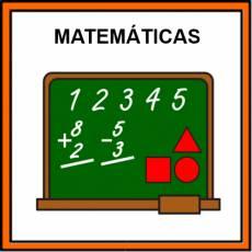 MATEMÁTICAS - Pictograma (color)