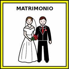 MATRIMONIO - Pictograma (color)