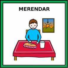 MERENDAR - Pictograma (color)