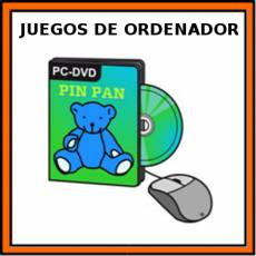 JUEGOS DE ORDENADOR - Pictograma (color)