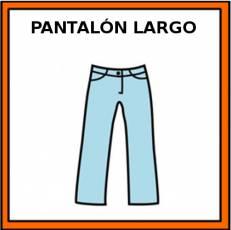 PANTALÓN LARGO - Pictograma (color)