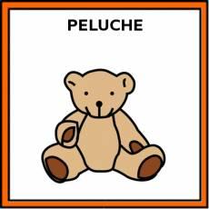 PELUCHE - Pictograma (color)