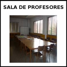 SALA DE PROFESORES - Foto