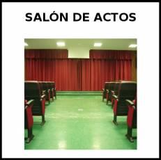 SALÓN DE ACTOS - Foto