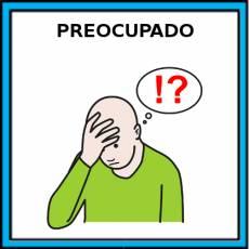 PREOCUPADO - Pictograma (color)
