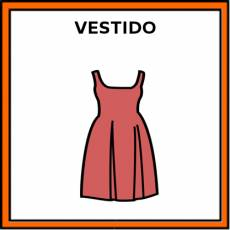 VESTIDO - Pictograma (color)