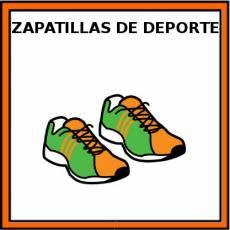 ZAPATILLAS DE DEPORTE - Pictograma (color)