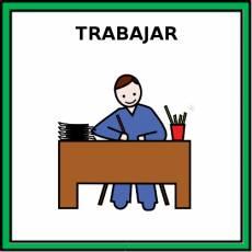 TRABAJAR - Pictograma (color)