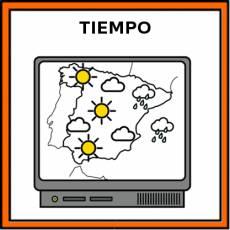 TIEMPO (ATMOSFÉRICO) - Pictograma (color)
