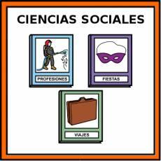 CIENCIAS SOCIALES - Pictograma (color)