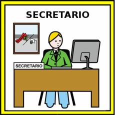 SECRETARIO - Pictograma (color)